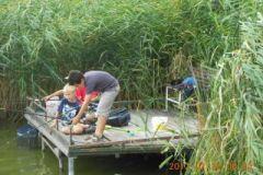 Gyermek horgásztábor 2012